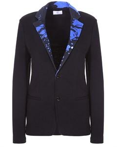 Хлопковый блейзер с вышивкой Versace
