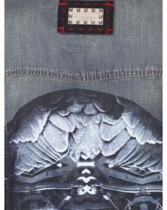 Рубашка джинсовая с принтом Philipp plein