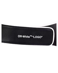 Ремень кожаный Off-white