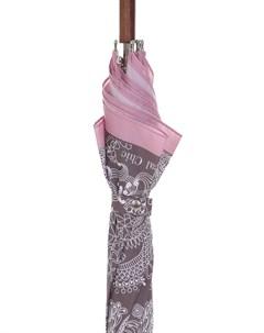 Зонт трость складной с принтом Radical chic