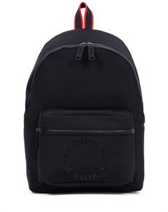 Рюкзак текстильный с логотипом Hugo boss