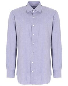 Рубашка regular fit хлопковая Attolini