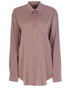 Удлиненная рубашка из вискозы Balenciaga