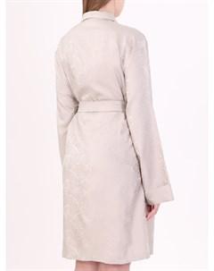 Жаккардовый халат из шелка Etro