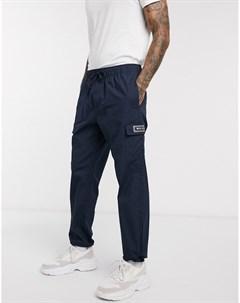 Темно синие брюки карго Темно синий Nicce