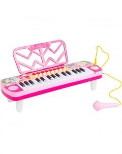 Музыкальный инструмент Игрушечный синтезатор c микрофоном Май литл пони (my little pony)