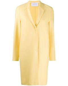 Однобортное пальто кокон Harris wharf london