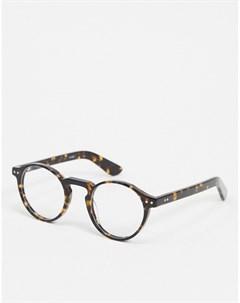 Круглые очки в черепаховой оправе Spitfire