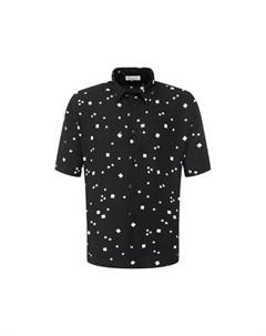 Рубашка из вискозы Saint laurent