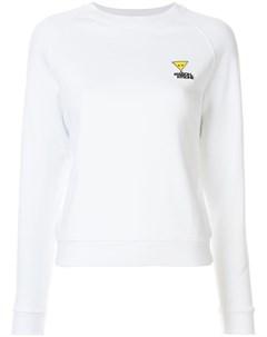 свитер кроя слим с вышитым логотипом Maison kitsuné