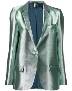 Приталенный пиджак с люрексом Indress
