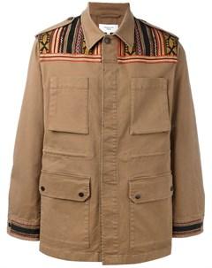 Куртка с вышивкой Fashion clinic timeless