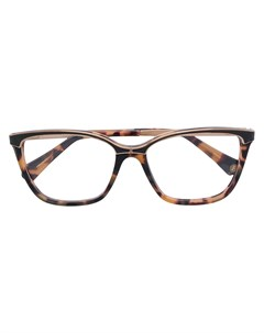 очки с эффектом черепашьего панциря Balmain