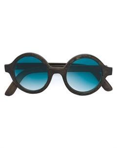 Солнцезащитные очки в круглой оправе Slave to ancestors