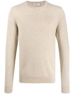однотонный пуловер с круглым вырезом Closed