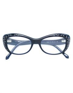 Очки в оправе формы кошачий глаз Roberto cavalli