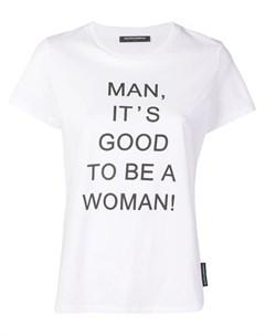 Футболка с надписью Good to be a Woman Marlies dekkers
