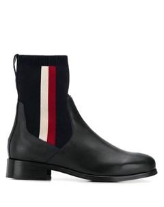 ботинки с эластичными вставками Tommy hilfiger