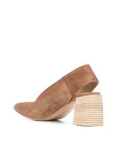 Туфли с прорезью на каблуке Marsèll