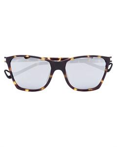 солнцезащитные очки черепаховой расцветки Keiichi Satisfy