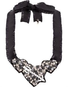 ожерелье с кристаллами Red valentino