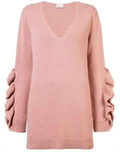 свитер с оборками Red valentino