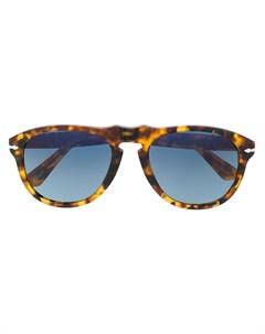Солнцезащитные очки в оправе черепаховой расцветки Persol