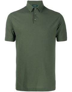 Рубашка поло с короткими рукавами Zanone