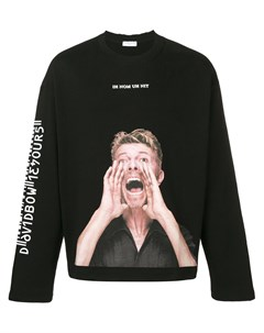 Толстовка Bowie Scream Ih nom uh nit