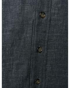 Однотонная куртка рубашка Canali