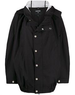 Куртка оверсайз с капюшоном Chen peng