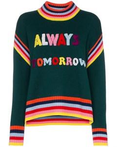 свитер с надписью Mira mikati