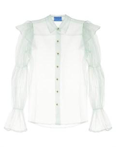 Полупрозрачная блузка Souffle Macgraw