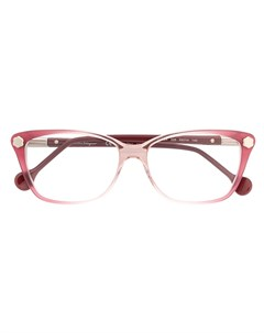 Очки в оправе с эффектом градиент Salvatore ferragamo eyewear