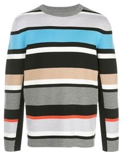 Полосатый свитер тонкой вязки Aztech mountain