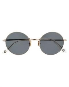 Солнцезащитные очки в круглой оправе Peter & may walk