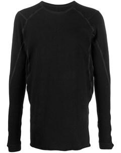 пуловер с круглым вырезом и окантовкой Isaac sellam experience