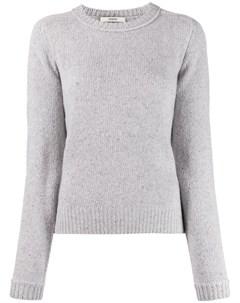 пуловер в рубчик с длинными рукавами Odeeh
