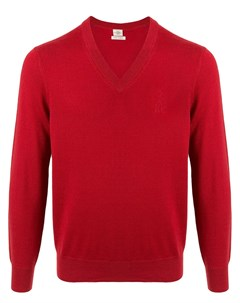 пуловер с V образным вырезом Kent & curwen