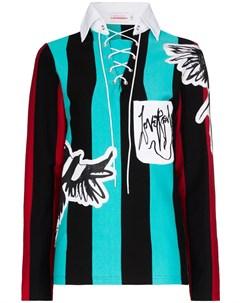свитер Magpie в полоску Charles jeffrey loverboy