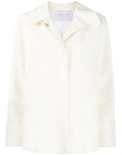 Куртка рубашка из искусственной кожи Harris wharf london