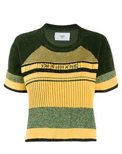 Полосатая футболка с короткими рукавами Quetsche