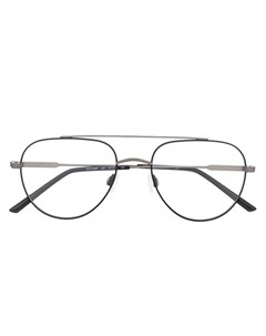 очки в матовой квадратной оправе Calvin klein