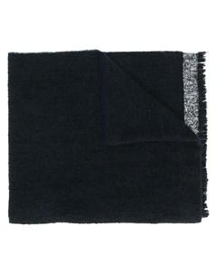 шарф с узором в елочку Zanone