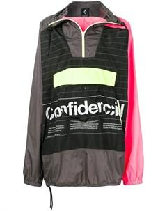 куртка пуловер Confidencial с капюшоном Marcelo burlon county of milan