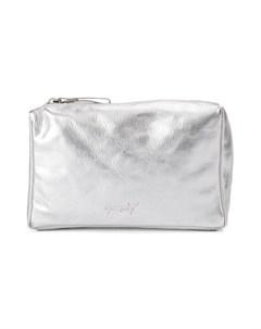 сумка на плечо с эффектом металлик Marsèll