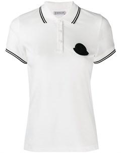 рубашка поло с логотипом Moncler