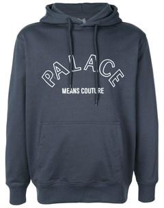 Толстовка с капюшоном и принтом логотипа Palace