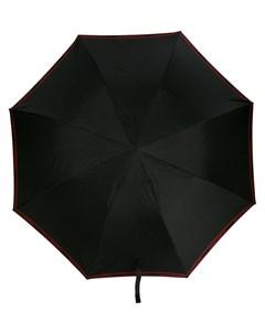 зонт с декором Skull на ручке Alexander mcqueen
