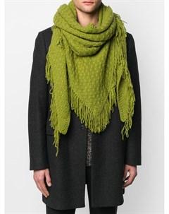 Кашемировый шарф с бахромой Danielapi